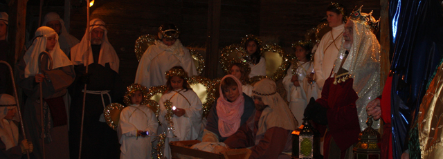 Live Nativity - Pilgrimage to Bethlehem